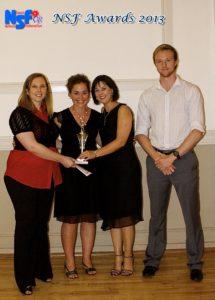 Women's 3rd league winners CSIR