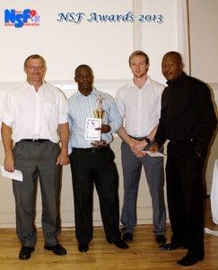Men's 11th league winners SA Reserve Bank