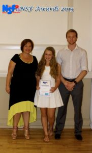 SA Top 10 under 14 - Danielle Dreyer, Blaine Verhage (absent)