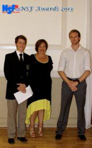 NJSA Chairman's Award - Johan Fourie, Makgosi Peloakgosi (absent)
