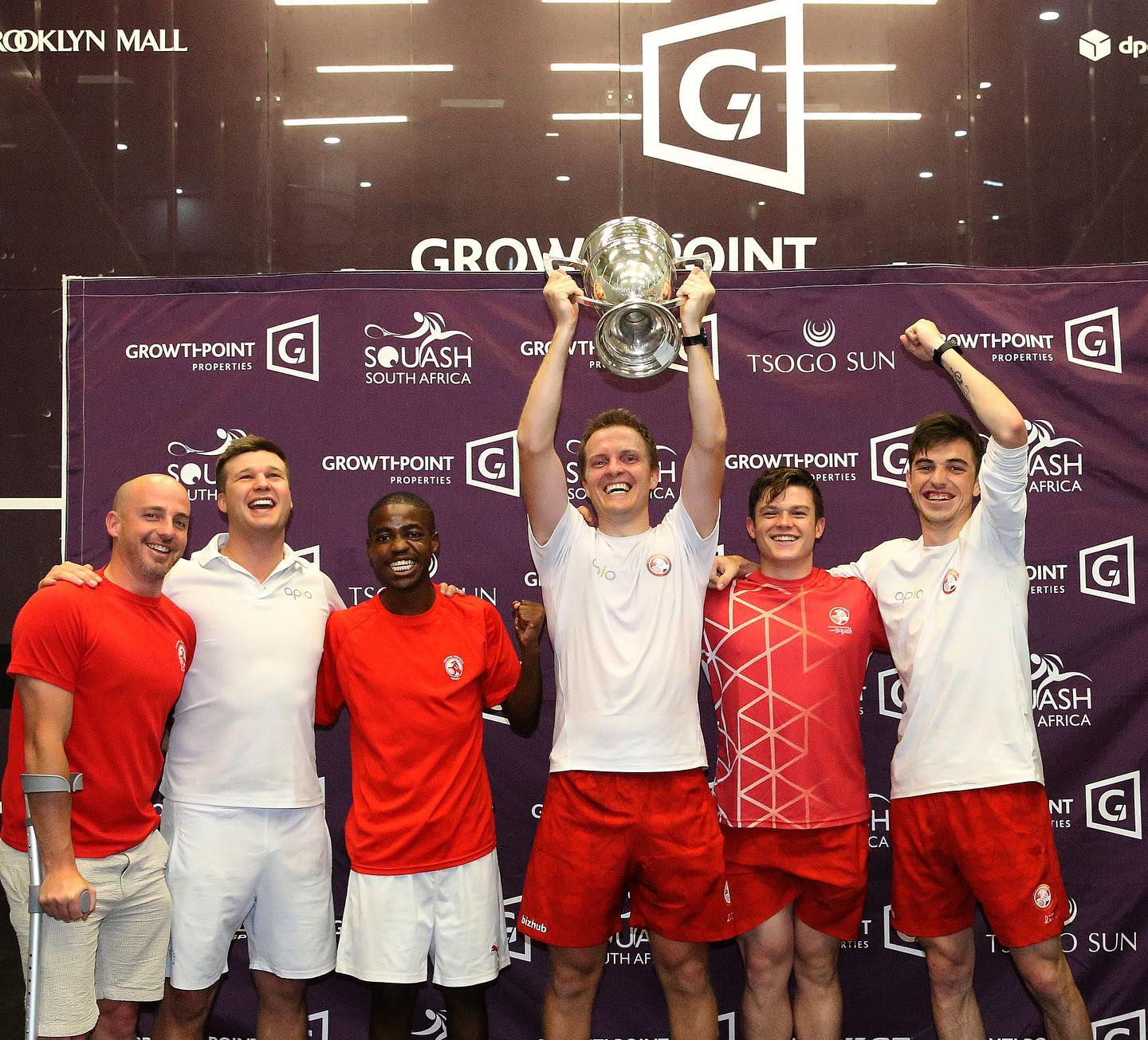 Joburg Squash crowned Men's Growthpoint IPT champions – results day 5